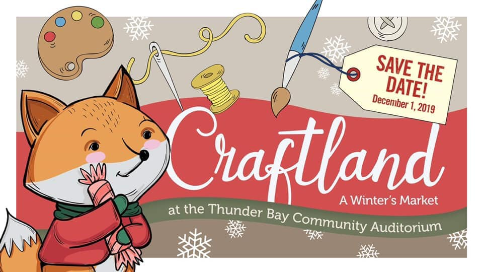 Craftland Thunder Bay Christmas craft and art sale